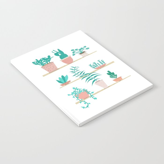 Pot Plants Notebook