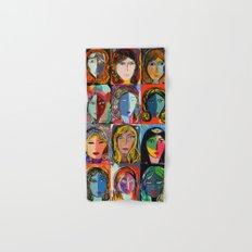 20 portraits Hand & Bath Towel
