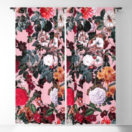 Romantic Garden X Blackout Curtain