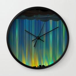 Floridian Monsoon Wall Clock