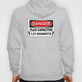 Danger Flux Capacitor Hoody