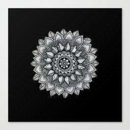 Organic Mandala Canvas Print