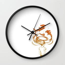 Inner Thoughts VII Wall Clock