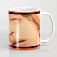 mia wallace Mugs featuring Mia Wallace by yayanastasia