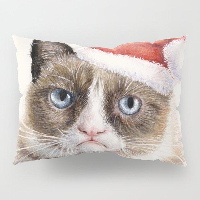 Santa Cat Pillow Sham