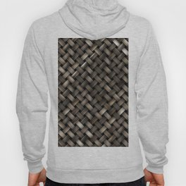 Woven texture Hoody