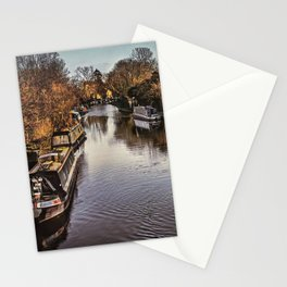 The Kennet And Avon Above Newbury Stationery Cards