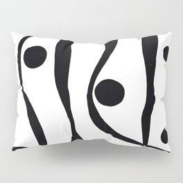 Black Lines Pillow Sham