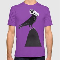 The Lookout Mens Fitted Tee SMALL Ultraviolet