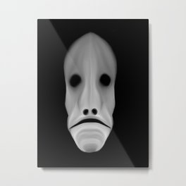 Ghost Face Metal Print