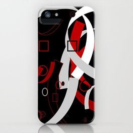 Simple Abstract iPhone Case