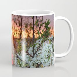 Spring Blossoms Sunset Coffee Mug