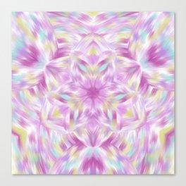 Joy of Abundance Digital kaleidoscope Art  Canvas Print