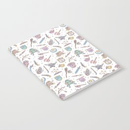 Cute Dungeons and Dragons Pattern Notebook