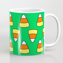 Green Candy Corn Coffee Mug
