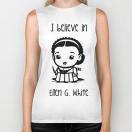 I believe in Ellen G. white Biker Tank