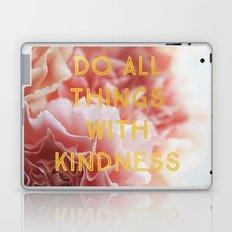 With Kindness Laptop & iPad Skin