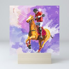 power of polo Mini Art Print
