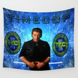 Cop Of The Future Wall Tapestry