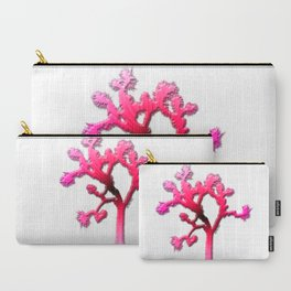 Joshua Tree Strawberry Carry-All Pouch