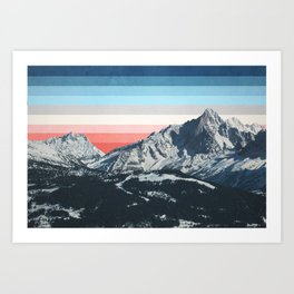Colorscape I Art Print