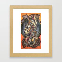 Elegiac Framed Art Print