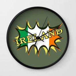 Ireland Patrick's day Wall Clock