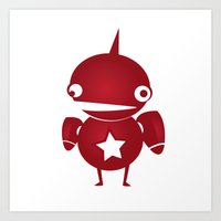 minima - slowbot 002 Art Print