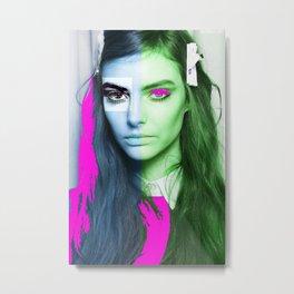 Woman N71 Metal Print