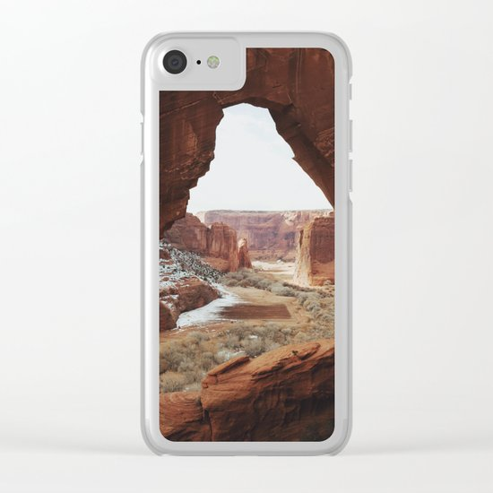 Window Rock Clear iPhone Case