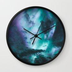 Aurora Borealis XX Wall Clock