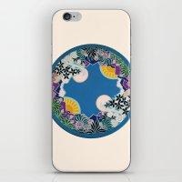 mandala iPhone & iPod Skins featuring Mandala by Abundance