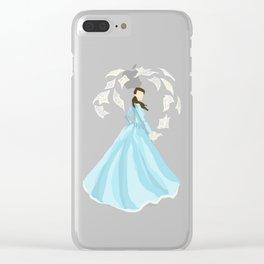 eliza schuyler hamilton Clear iPhone Case