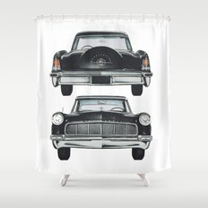 Front and back Shower Curtain