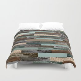 Wood in the Wall Duvet Cover