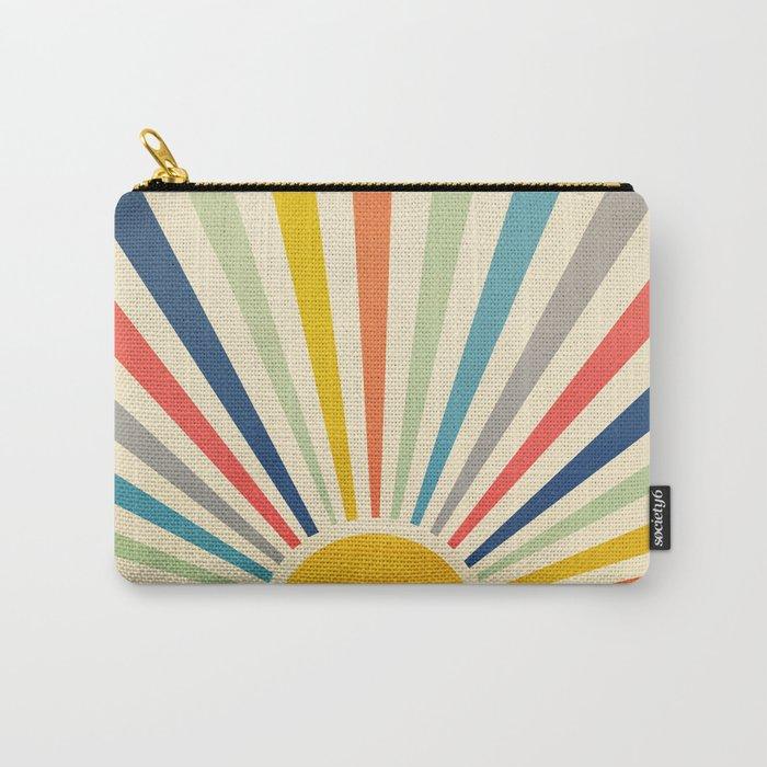 Sun Retro Art III Carry-All Pouch