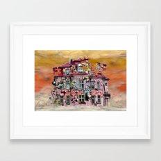 playhouse Framed Art Print