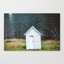 Baker's Island Woodshed Canvas Print