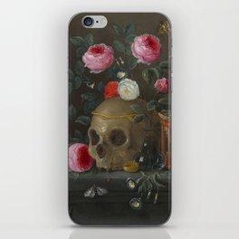 Jan van Kessel Vanitas Still Life iPhone Skin