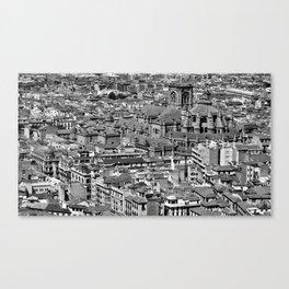 Cityscape - Granada Canvas Print