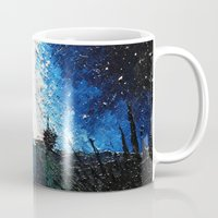 interstellar Mugs featuring Interstellar by LucioL