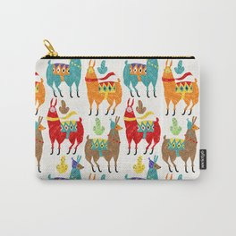 Llamas Colours Carry-All Pouch