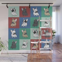 French Bulldog Puppies Wall Mural