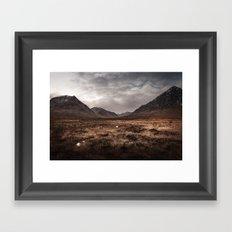 Mountain Moors Framed Art Print