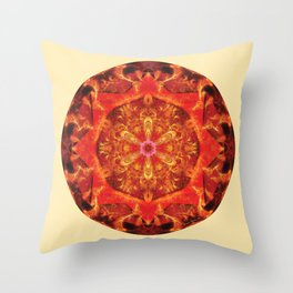 Mandalas from the Heart of Transformation 7 Throw Pillow
