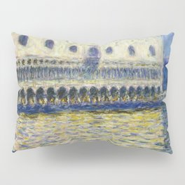 The Palazzo Ducale by Claude Monet Pillow Sham