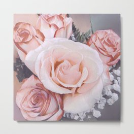 The Perfection of Beauty Metal Print