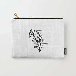 Romantic Quote,Printable Decor,Gift Idea,Women Gift,Typographic Print,For Her,Gift For Couples Carry-All Pouch