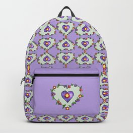 Heartily Floral Backpack