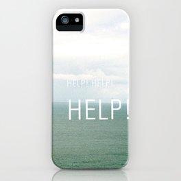 Help. iPhone Case